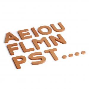 Holzbuchstaben 3D Zusatzset