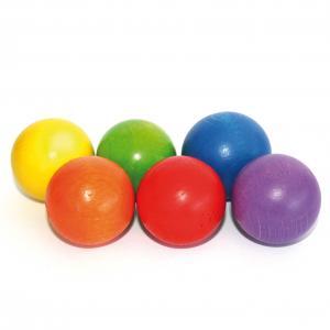 Marble Set 6 Wooden Balls